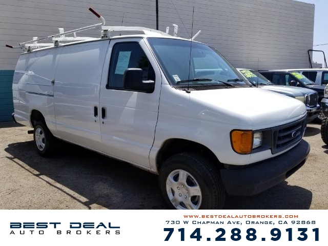 2007 Ford E-Series Cargo E-250 Front air conditioning Front air conditioning zones - single Front