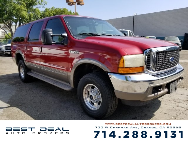 2000 Ford Excursion Limited 4WD SPORT Front air conditioning Rear air conditioning Front airbags