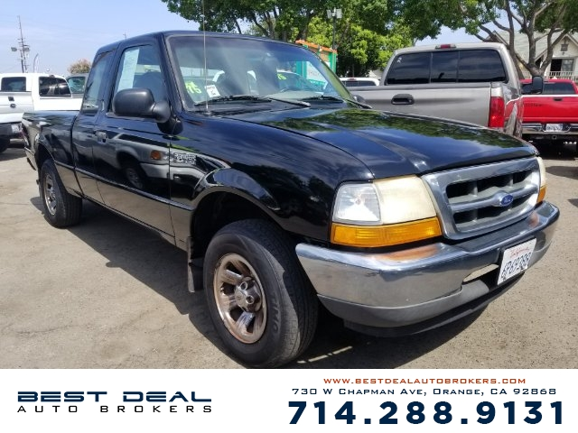 2000 Ford Ranger XL SuperCab 2WD Front airbags - dual In-Dash CD - single disc Radio - AMFM ABS