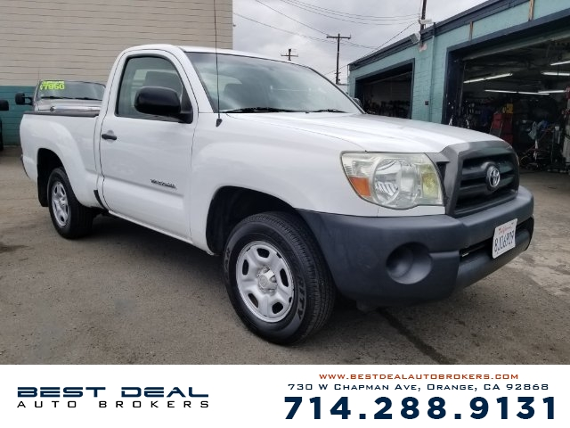 2007 Toyota Tacoma Base Airbag deactivation - passenger switch Front airbags - dual Antenna type