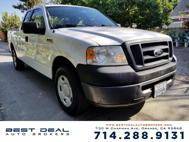 2007 Ford F-150 XL Front air conditioning Front air conditioning zones - single Airbag deactivat