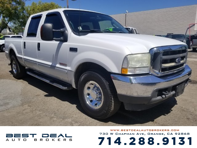 2003 Ford F-250 Super Duty XLT Front air conditioning Front airbags - dual Cassette In-Dash CD -