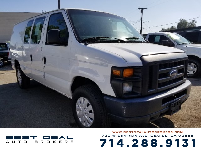 2011 Ford E-Series Cargo E-250 CARGO VAN Front air conditioning Front air conditioning zones - s