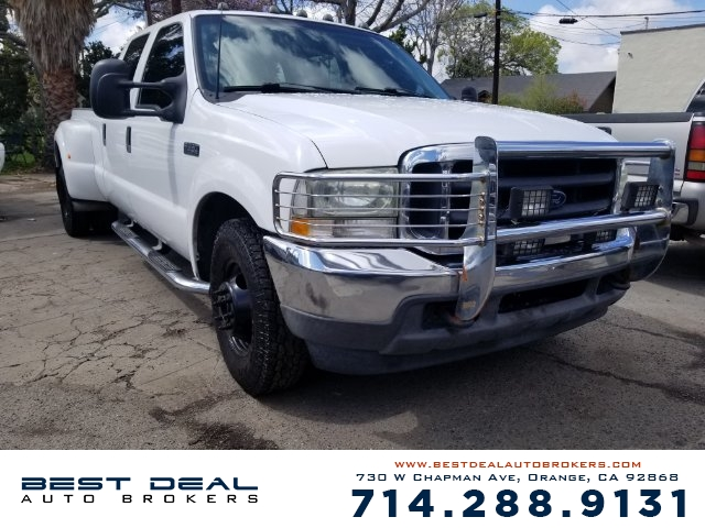 2002 Ford F-350 Super Duty XLT Front air conditioning Front airbags - dual Cassette In-Dash CD -