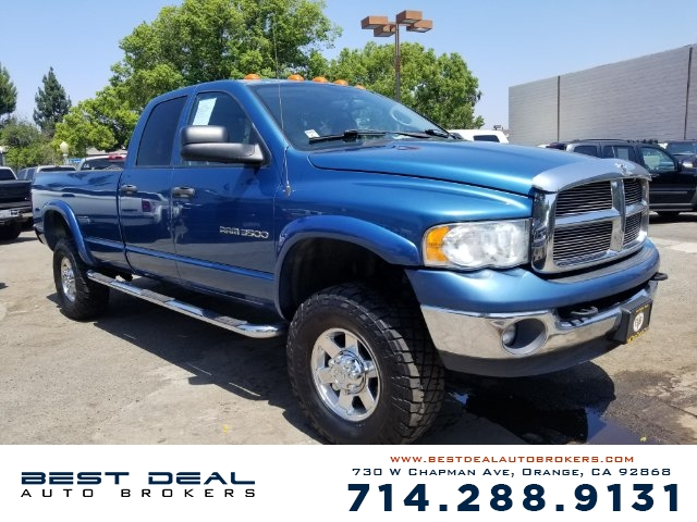2004 Dodge Ram 3500 Laramie 4WD CREW Front air conditioning Front airbags - dual In-Dash CD - sin