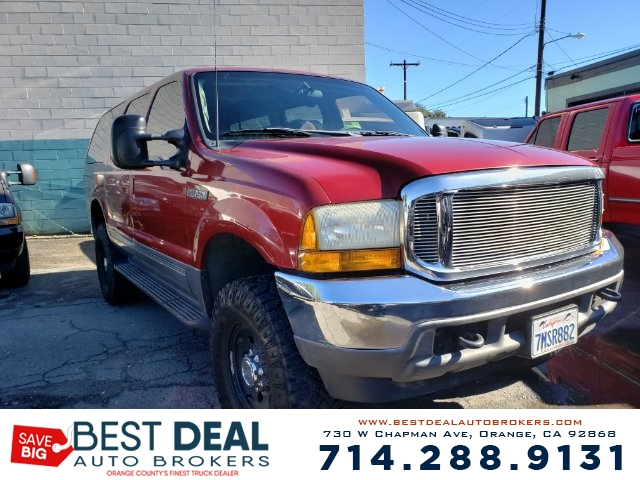 2001 FORD EXCURSION XLT 2WD SPORT