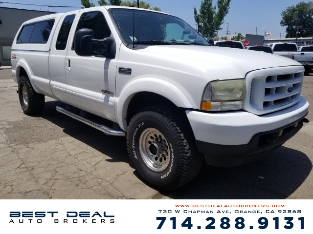 2003 Ford F-250 Super Duty XLT Lariat Diesel Front air conditioning Front airbags - dual Casset
