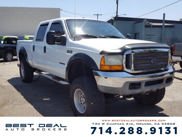 2000 Ford F-250 Super Duty XLT 4WD Diesel Front air conditioning Front airbags - dual Cassette