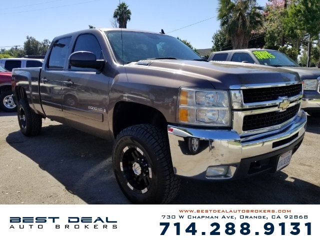 2008 Chevrolet Silverado 2500HD LTZ 4WD CREW Air filtration Front air conditioning - automatic cli