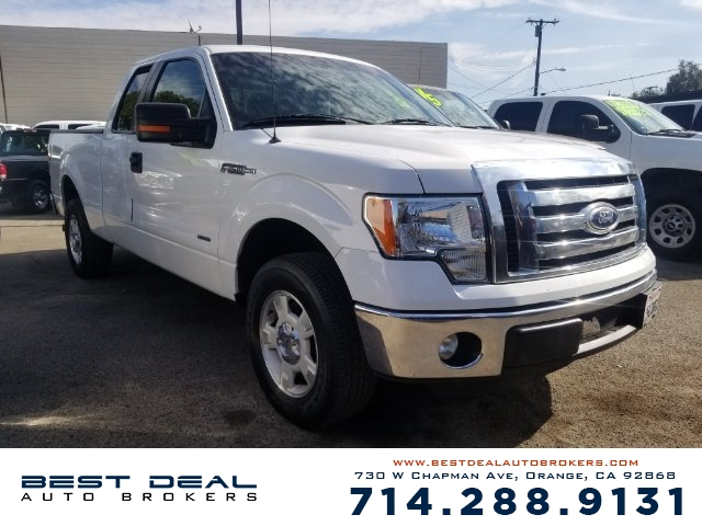 2012 Ford F-150 XLT SuperCab 65-ft Front air conditioning Front air conditioning zones - single