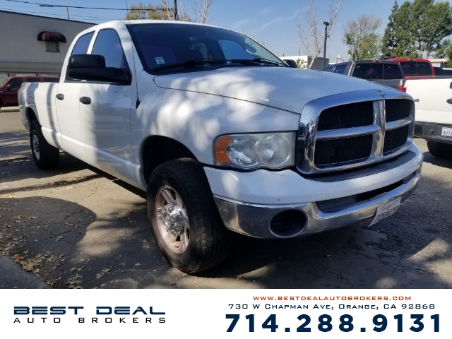 2005 Dodge Ram 2500 ST Front air conditioning - Array automatic climate control Front air conditi