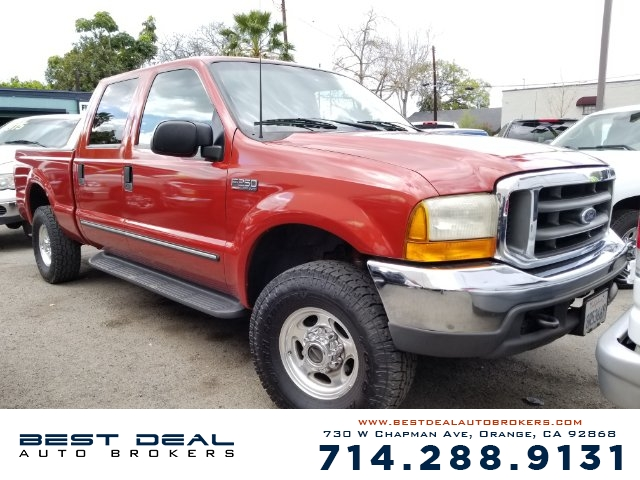 2000 Ford F-250 Super Duty Lariat Front air conditioning Front airbags - dual Cassette Radio -