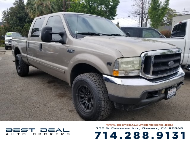 2002 Ford F-250 Super Duty XLT Front air conditioning Front airbags - dual Cassette In-Dash CD