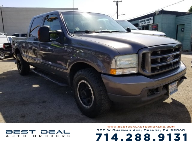2004 FORD F-250 SUPER DUTY XLT CREW CAB