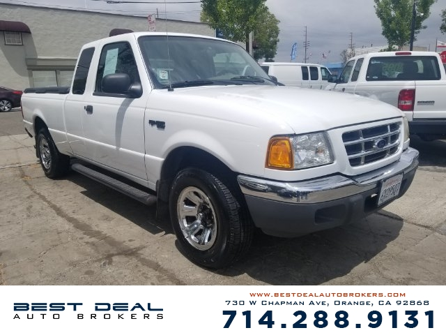 2002 Ford Ranger XLT Appearance Front air conditioning Front airbags - dual In-Dash CD - single