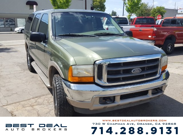 2000 Ford Excursion Limited 4WD Front air conditioning -  Rear air conditioning Front airbags -