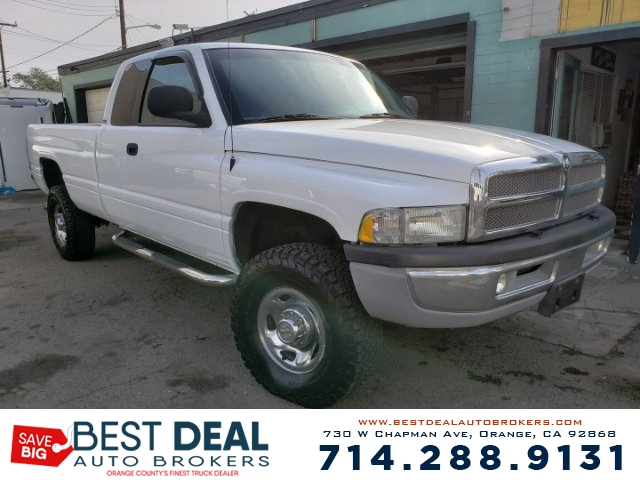 1999 Dodge Ram 2500 SLT Laramie Long Front air conditioning Front airbags - dual Cassette Radi