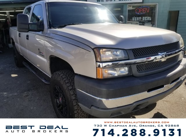 2005 Chevrolet Silverado 2500HD LT Front air conditioning - automatic climate control Front air co