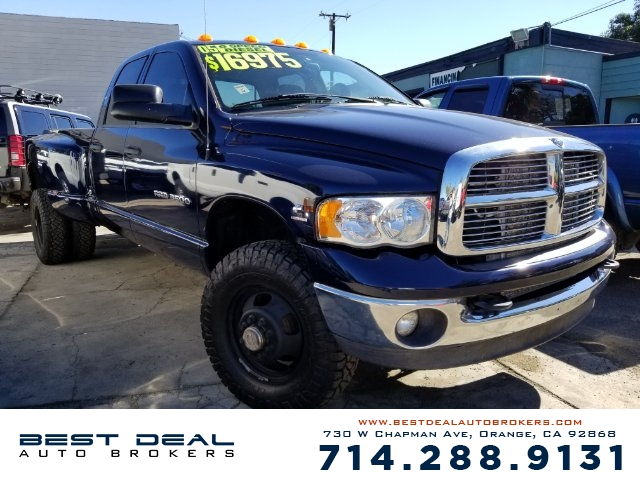 2005 Dodge Ram 3500 Laramie Quad Cab Front air conditioning - Array automatic climate control Fron