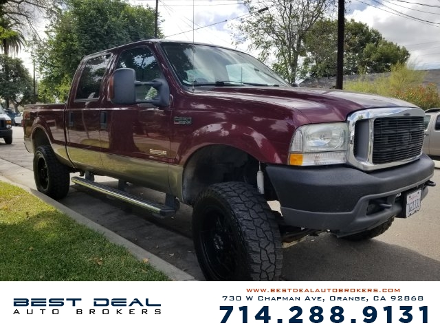 2004 FORD F-250 SUPER DUTY LARIAT