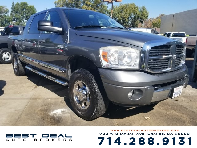 2008 Dodge Ram 2500 SXT Front air conditioning Front air conditioning zones - single Front airba