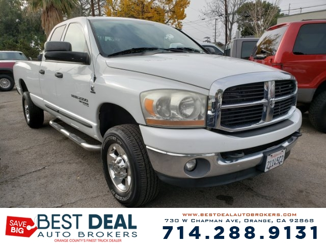 2006 Dodge Ram 2500 SLT Long Bed Front air conditioning Airbag deactivation - occupant sensing p