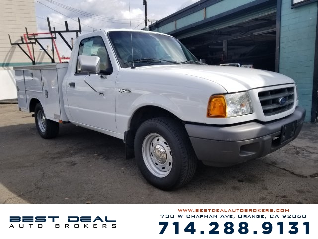 2002 Ford Ranger XL Front air conditioning Front airbags - dual Radio - AMFM ABS - 4-wheel Po