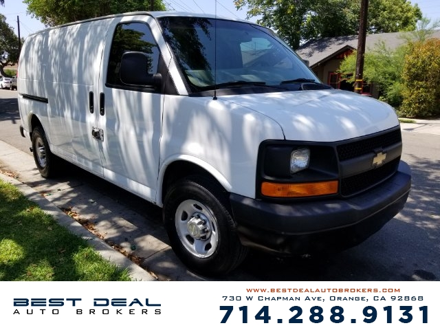 2011 Chevrolet Express Cargo 2500 CARGO VAN Front air conditioning - automatic climate control Fro