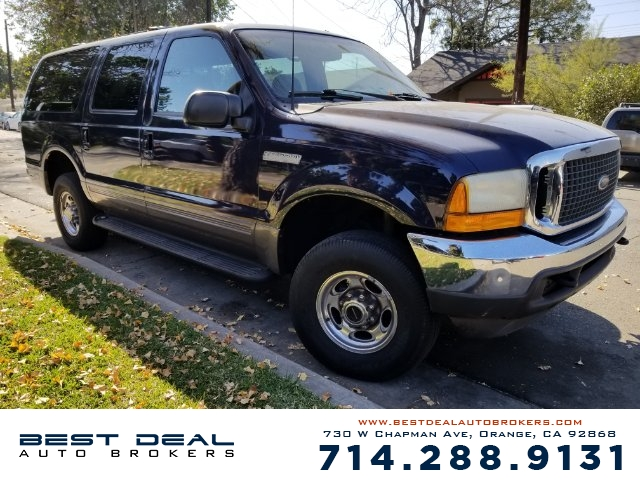 2001 Ford Excursion XLT Front air conditioning Rear air conditioning Front airbags - dual Casset