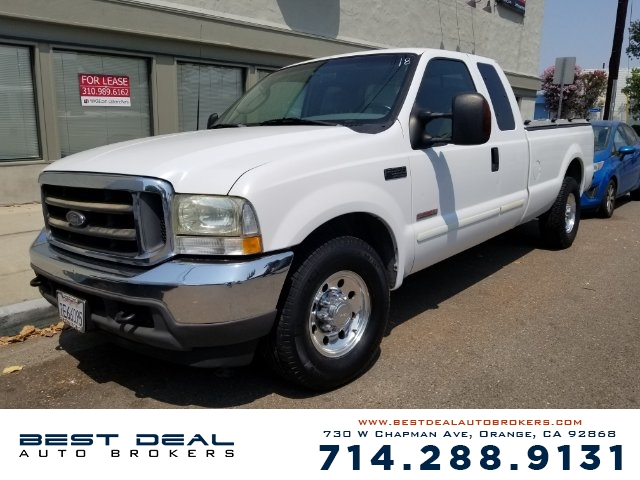 2003 Ford F-350 Super Duty Lariat SuperCab 2WD Front air conditioning Front airbags - dual Casset