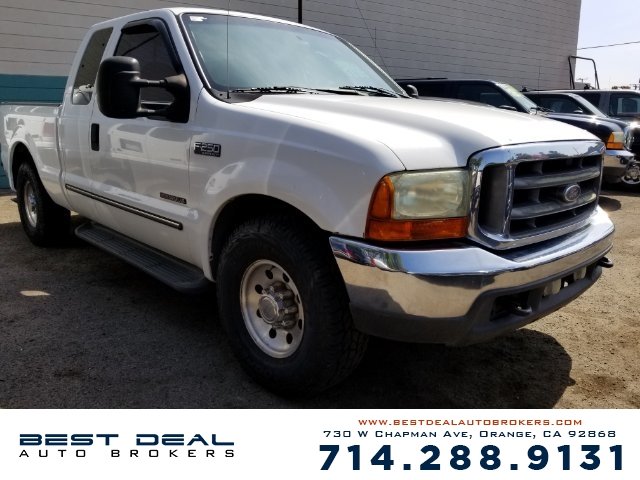 2000 Ford F-250 Super Duty XLT SuperCab Short Front air conditioning Front airbags - dual Casse