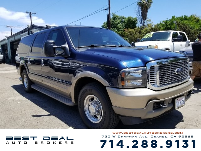 2003 FORD EXCURSION EDDIE BAUER LIMITED