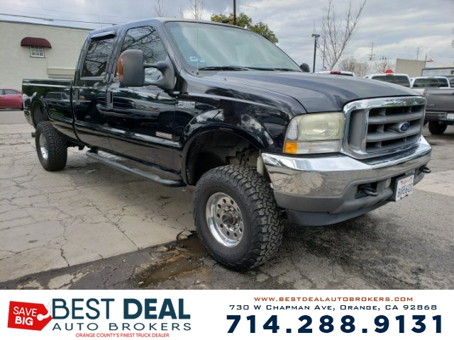2004 Ford F-350 Super Duty Lariat Front air conditioning Front airbags - dual In-Dash CD - sing
