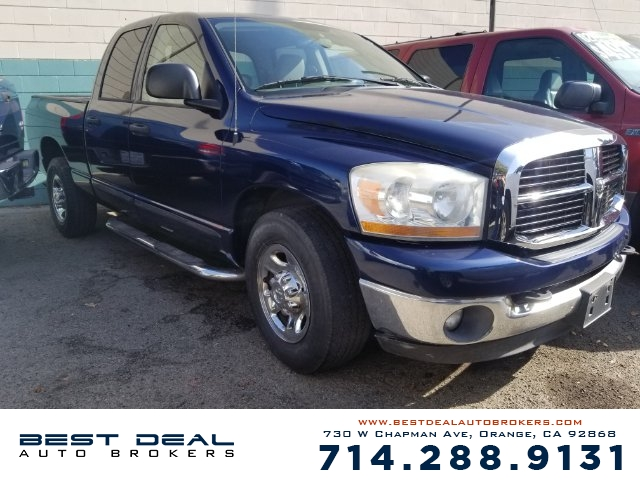 2006 Dodge Ram 2500 SLT Front air conditioning Airbag deactivation - occupant sensing passenger