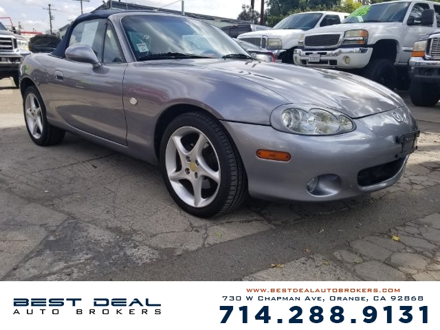 2003 Mazda MX-5 Miata Base Front air conditioning Front airbags - dual Antenna type - power In