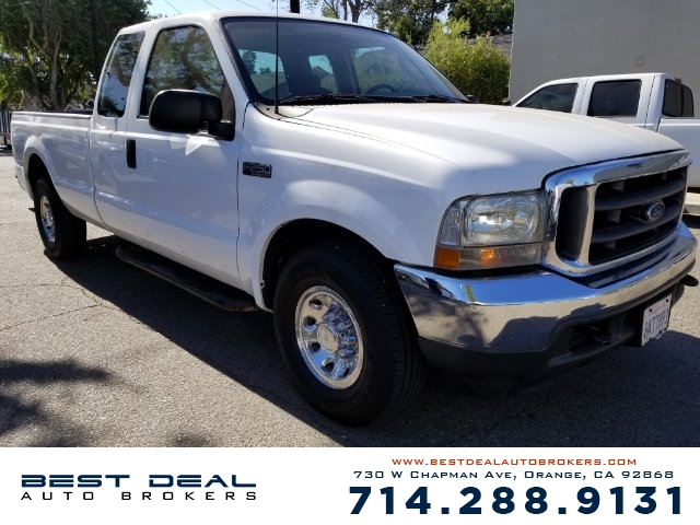 2003 Ford F-250 Super Duty XL SuperCab Long Front airbags - dual Radio - AMFM ABS - 4-wheel Pow