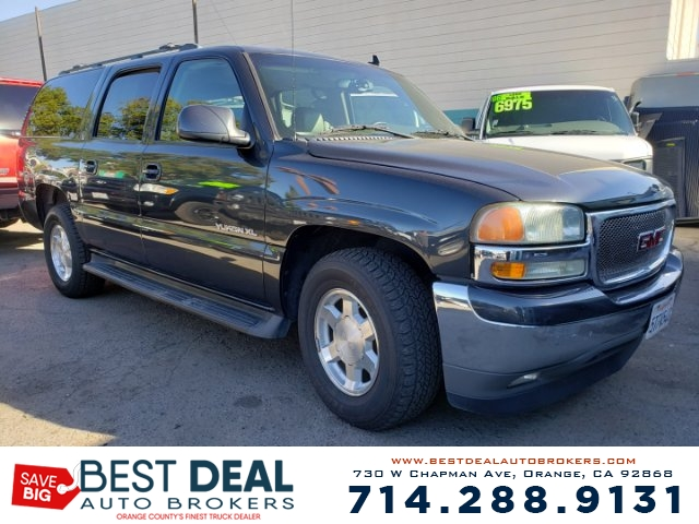 2006 GMC Yukon XL SLT 1500 2WD Front air conditioning - automatic climate control Front air cond