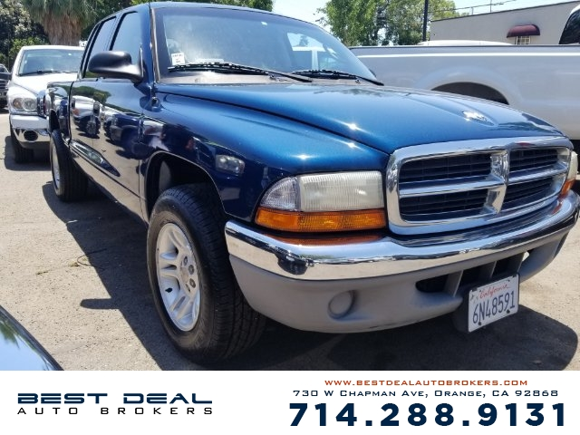 2001 Dodge Dakota SLT Front air conditioning Front airbags - dual Cassette Radio - AMFM ABS -