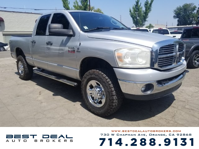 2008 Dodge Ram 2500 SLT Front air conditioning Front air conditioning zones - single Front airbag