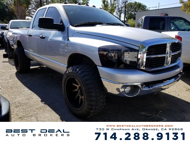 2006 Dodge Ram 2500 SLT Quad Cab Front air conditioning Airbag deactivation - occupant sensing pas