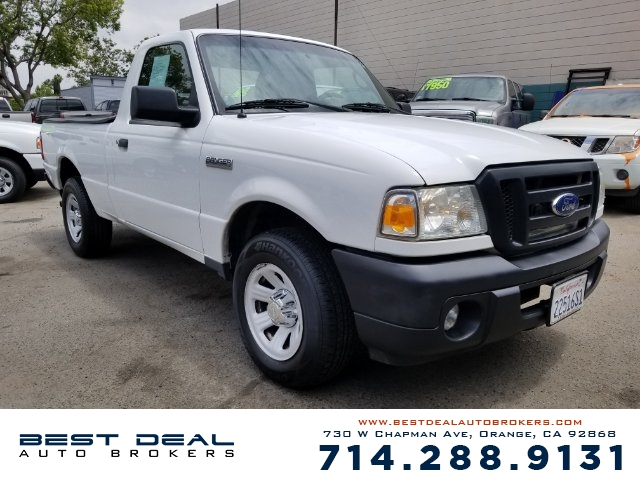2010 Ford Ranger XL Front air conditioning Front air conditioning zones - single Airbag deactiva