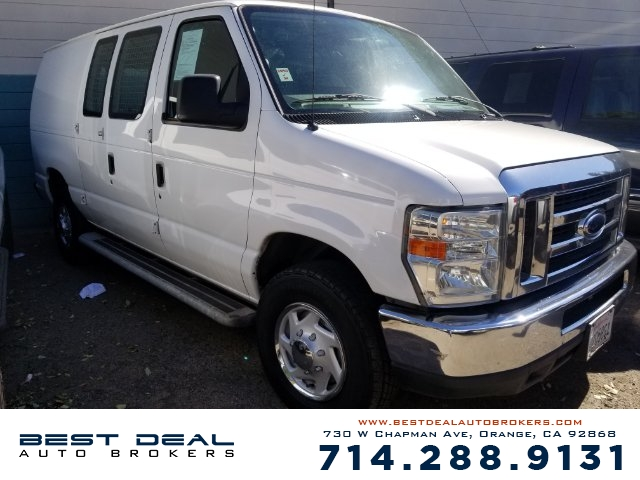 2012 Ford E-Series Cargo E-250 CARGO VAN Front air conditioning Front air conditioning zones - s