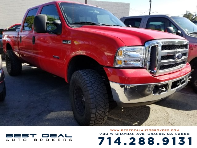 2005 Ford F-250 Super Duty XLT Crew Cab Front air conditioning - Array automatic climate control F