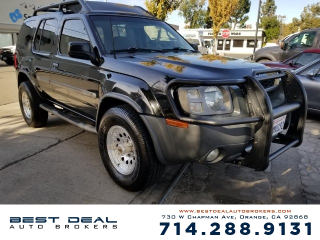 2003 Nissan Xterra SE Front air conditioning Front airbags - dual In-Dash CD - 6 disc MP3 Playba
