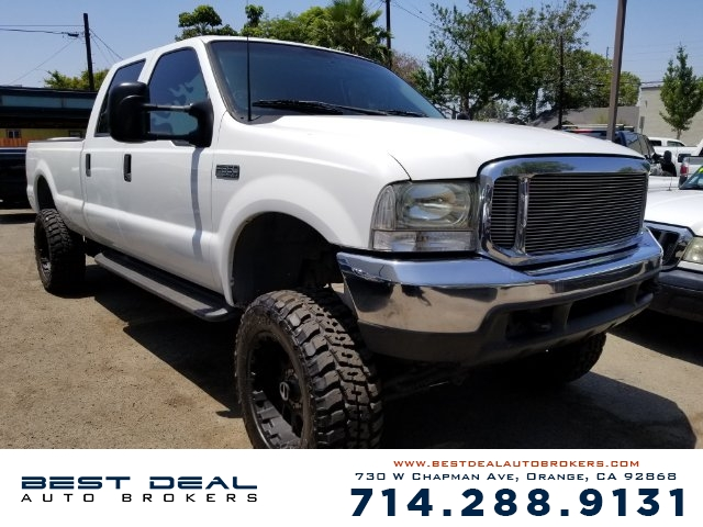 2000 Ford F-350 Super Duty XLT 4Door Crew Front air conditioning Front airbags - driver side Cas