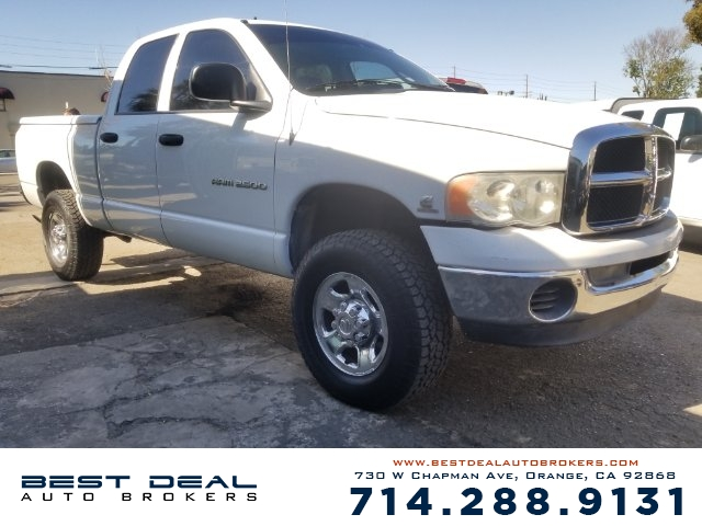 2005 Dodge Ram 2500 SLT Front air conditioning - Array automatic climate control Front air condit