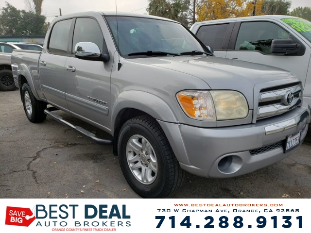 2006 Toyota Tundra SR5 CREW CAB Front air conditioning Rear heat - independently controlled Front