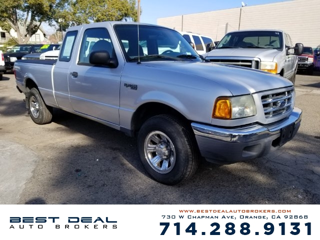 2003 Ford Ranger XLT Front airbags - dual In-Dash CD - single disc Radio - AMFM ABS - 4-wheel