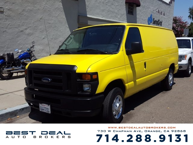 2011 Ford E-Series Cargo E-150 Front air conditioning Front air conditioning zones - single Fro