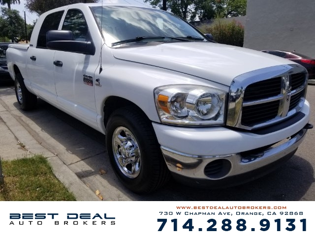 2007 Dodge Ram 2500 SLT Front air conditioning Front air conditioning zones - single Airbag deact
